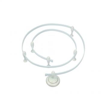Гибкий токопровод Arte Lamp Instyle A530033, белый, металл