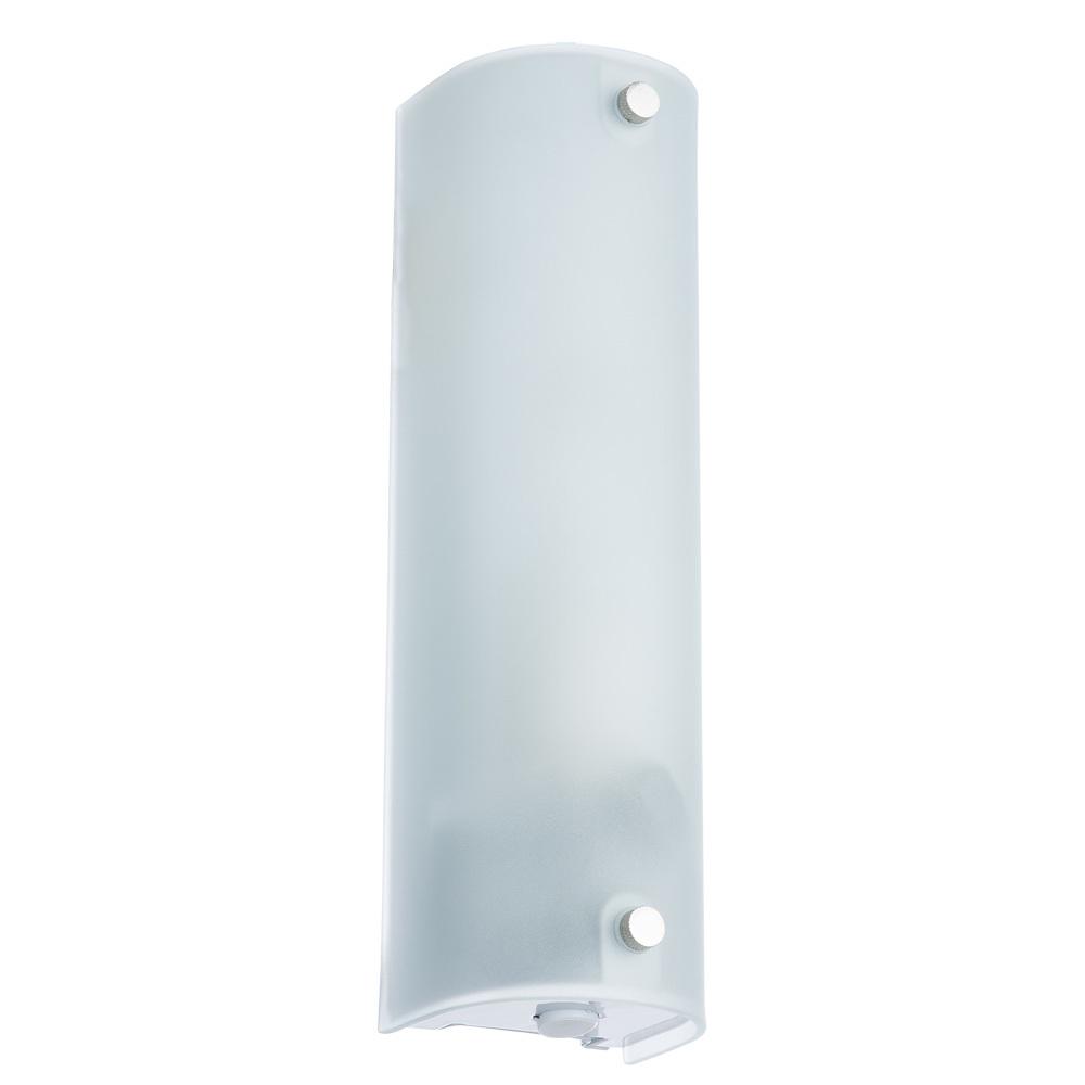 Настенный светильник Arte Lamp Tratto A4101AP-1WH, 1xE14x40W, белый, металл, стекло - фото 1