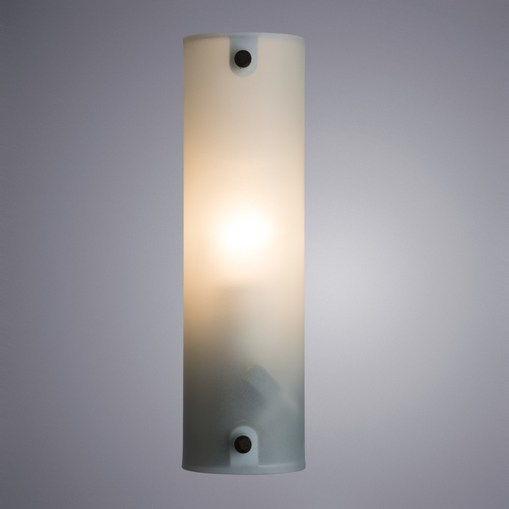 Настенный светильник Arte Lamp Tratto A4101AP-1WH, 1xE14x40W, белый, металл, стекло - фото 2
