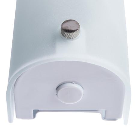 Настенный светильник Arte Lamp Tratto A4101AP-1WH, 1xE14x40W, белый, металл, стекло - миниатюра 3