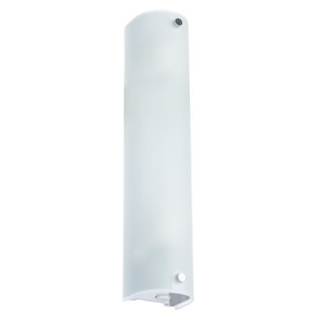 Настенный светильник Arte Lamp Tratto A4101AP-2WH, 2xE14x40W, белый, металл, стекло