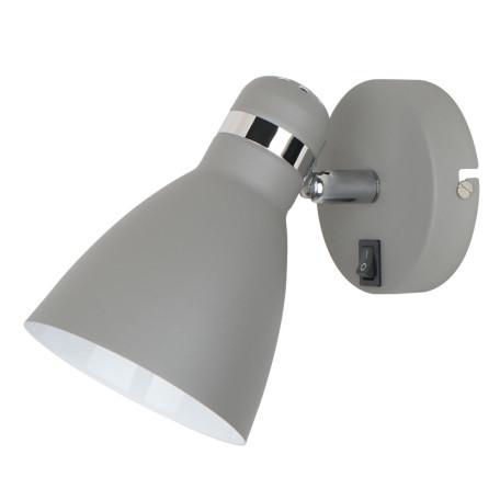 Настенный светильник с регулировкой направления света Arte Lamp MercoLED A5049AP-1GY, 1xE27x40W, серый, металл