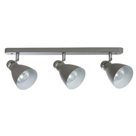 Настенный светильник с регулировкой направления света Arte Lamp MercoLED A5049PL-3GY, 3xE27x40W, серый, металл