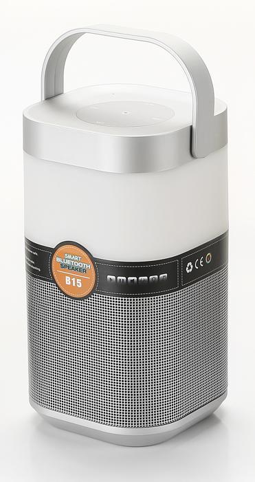 Музыкальный настольная светодиодная лампа Arte Lamp Music Band A2005LT-1SI, LED 5W, RGB, серебро, черный, пластик - фото 1