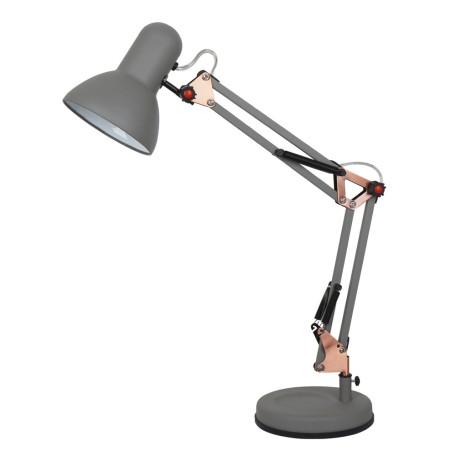 Настольная лампа Arte Lamp Junior A1330LT-1GY, 1xE27x40W, серый с медью, серый, металл