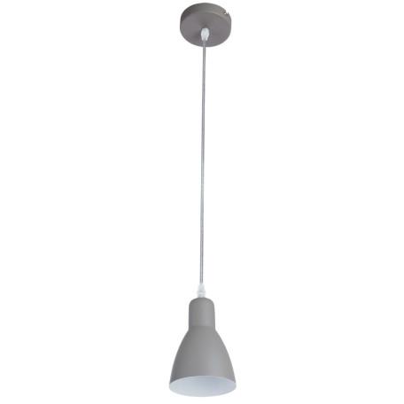 Подвесной светильник Arte Lamp MercoLED A5049SP-1GY, 1xE27x40W, серый, металл