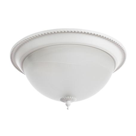 Потолочный светильник Arte Lamp Porch A1305PL-2WH, 2xE27x60W, белый, металл, стекло