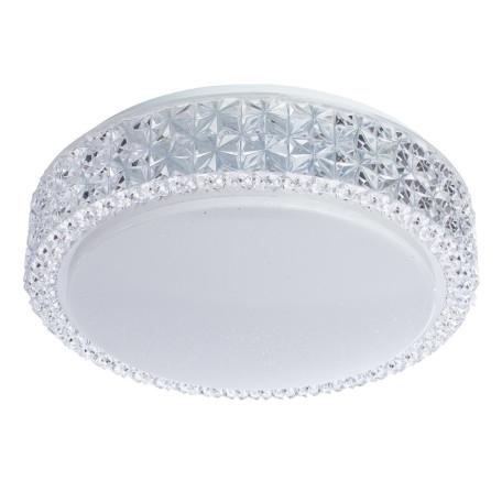 Потолочный светодиодный светильник Arte Lamp Celeste A1568PL-1CL 3000K (теплый), белый, прозрачный, металл, пластик