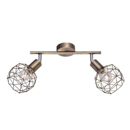 Потолочный светильник с регулировкой направления света Arte Lamp Sospiro A6141AP-2AB, 2xE14x40W, бронза, металл - миниатюра 1