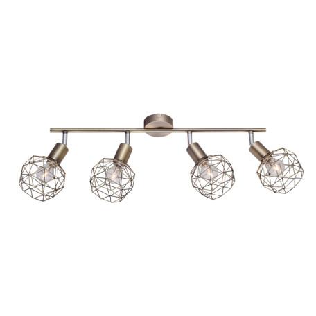 Потолочный светильник с регулировкой направления света Arte Lamp Sospiro A6141PL-4AB, 4xE14x40W, бронза, металл