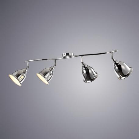 Потолочный светильник с регулировкой направления света Arte Lamp Campana A9557PL-4CC, 4xE14x40W, хром, металл