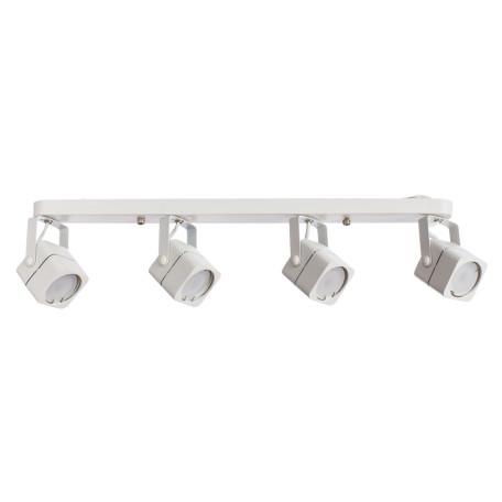 Потолочный светильник с регулировкой направления света Arte Lamp Lente A1314PL-4WH, 4xGU10x50W, белый, металл