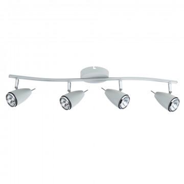 Потолочный светильник с регулировкой направления света Arte Lamp Regista A1966PL-4GY, 4xGU10x50W, серый, металл