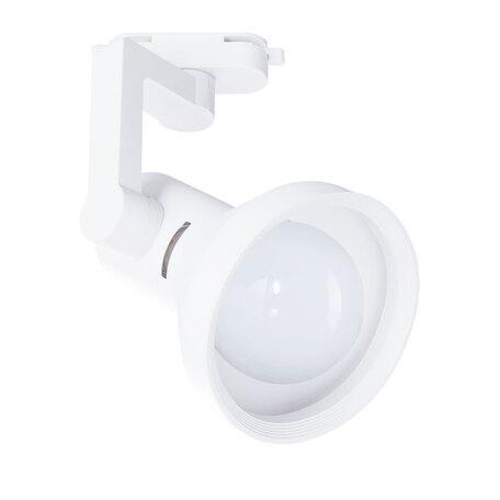 Светильник с регулировкой направления света для шинной системы Arte Lamp Instyle Nido A5108PL-1WH, 1xE27x60W, белый, металл