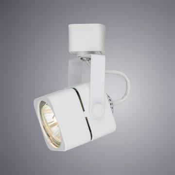 Светильник для шинной системы Arte Lamp Instyle Lente A1314PL-1WH, 1xGU10x50W, белый, металл