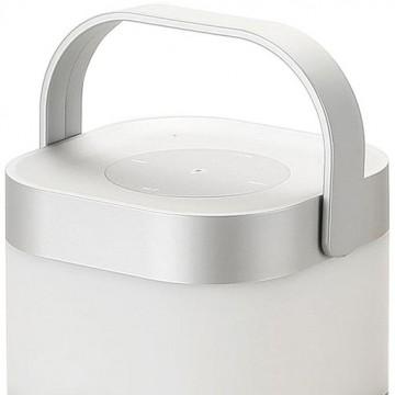Музыкальный настольная светодиодная лампа Arte Lamp Music Band A2005LT-1SI, LED 5W, RGB, серебро, черный, пластик - миниатюра 2