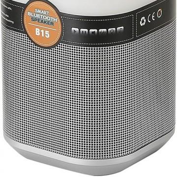 Музыкальный настольная светодиодная лампа Arte Lamp Music Band A2005LT-1SI, LED 5W, RGB, серебро, черный, пластик - миниатюра 3