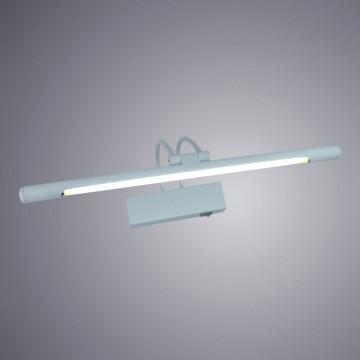 Настенный светильник для подсветки картин Arte Lamp Picture Lights LUM A3068AP-1WH, 1xG5T4x8W, белый, металл