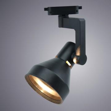 Светильник для шинной системы Arte Lamp Instyle Nido A5108PL-1BK, 1xE27x60W, черный, металл