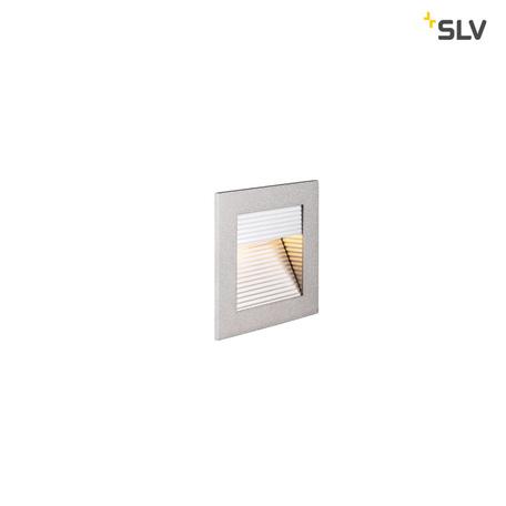 Встраиваемый настенный светодиодный светильник SLV FRAME CURVE LED HV 1000575, LED 2700K, серый, металл