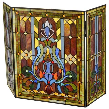 Экран для камина Velante 891-800-00, разноцветный, стекло