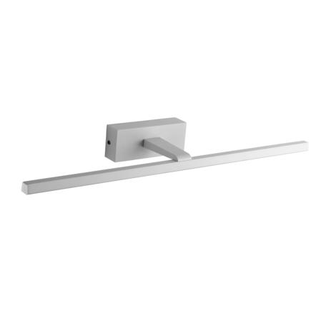 Настенный светодиодный светильник для подсветки зеркал ST Luce Mareto SL446.511.01, IP44, LED 18W 4000K 700lm, белый, металл