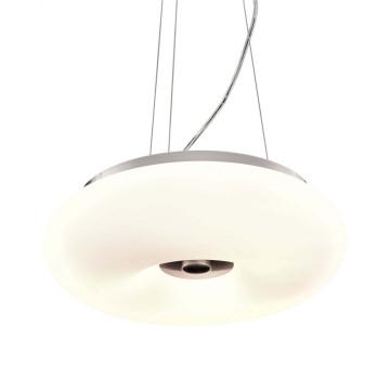 Подвесной светильник Lumina Deco Biante LDP 1104-380, 3xE27x40W, серебро, белый, металл, стекло