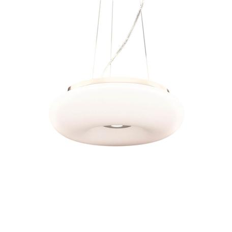 Подвесной светильник Lumina Deco Biante LDP 1104-480, 4xE27x40W, серебро, белый, металл, стекло