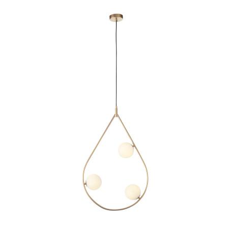 Подвесной светильник ST Luce Forcio SL1126.203.03, 3xG9x5W, матовое золото, белый, металл, стекло