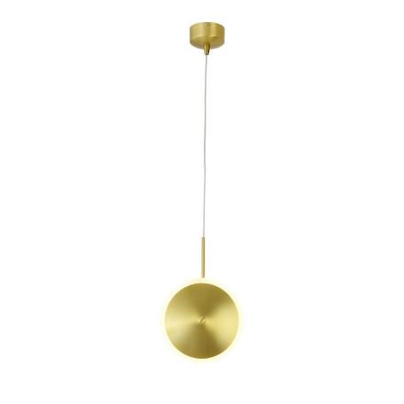 Подвесной светодиодный светильник ST Luce Imente SL1221.203.01, LED 7W 560lm, бронза, металл, металл с пластиком