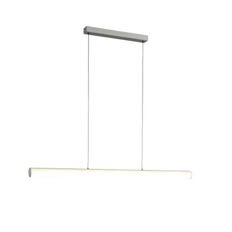 Подвесной светодиодный светильник ST Luce Bacheta SL439.503.01, LED 24W 4000K 2000lm, белый, металл, стекло
