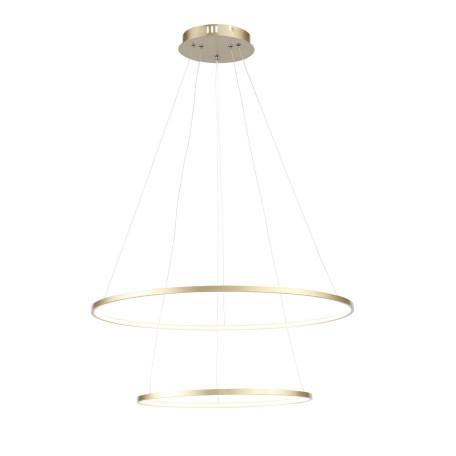 Подвесной светодиодный светильник ST Luce Erto SL904.203.02, LED 28W 4000K 2148lm, матовое золото, металл