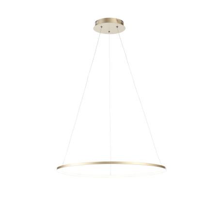 Подвесной светодиодный светильник ST Luce Erto SL904.213.01, LED 16W 4000K 1248lm, матовое золото, металл