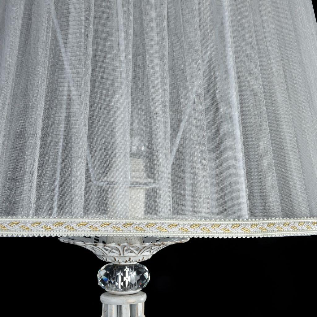 Торшер Maytoni Royal Classic Grace ARM247-11-G, 1xE14x40W, белый с золотой патиной, белый, металл, текстиль - фото 6