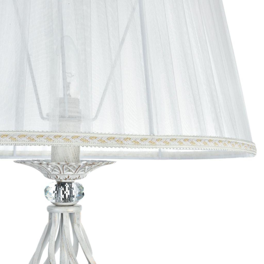 Торшер Maytoni Royal Classic Grace ARM247-11-G, 1xE14x40W, белый с золотой патиной, белый, металл, текстиль - фото 9