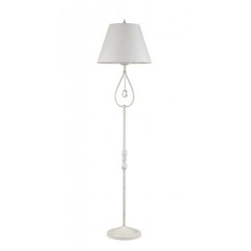 Торшер Maytoni Talia 1 ARM334-00-W, 1xE27x40W, белый, прозрачный, металл, текстиль, стекло - миниатюра 2