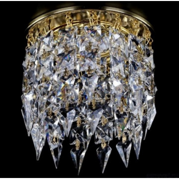 Встраиваемый светильник Artglass SPOT 11 CE, 1xGU10x35W, золото, прозрачный, металл, хрусталь Artglass Crystal Exclusive