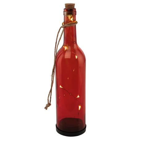 Садовый светодиодный светильник Eglo Z_Solar 48607, IP44, LED 0,36W, черный, красный, пластик, стекло