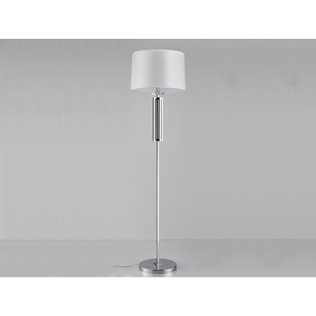 Основание настольной лампы Newport 4401/FL black nickel без абажура, 1xE27x60W, никель, металл со стеклом