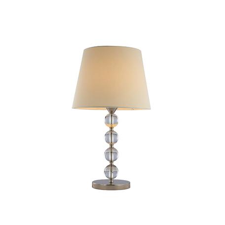 Основание настольной лампы Newport 31801/T без абажуров, 1xE27x60W, прозрачный, хрусталь