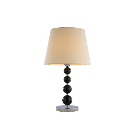 Основание настольной лампы Newport 32201/T black без абажуров, 1xE27x60W, черный, стекло