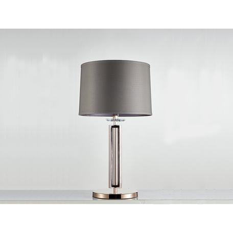 Основание настольной лампы Newport 4401/T black nickel без абажура, 1xE27x60W, никель, металл со стеклом