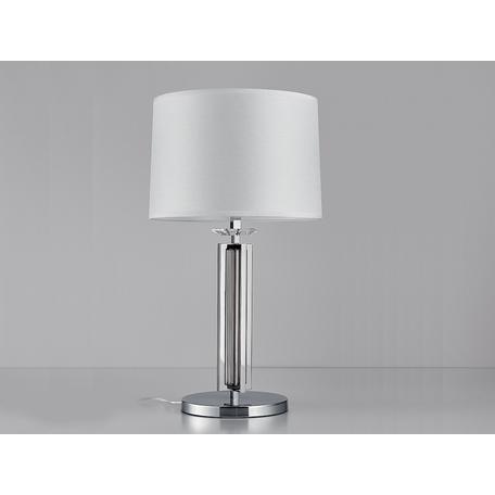 Основание настольной лампы Newport 4401/T chrome без абажура, 1xE27x60W, хром, металл со стеклом