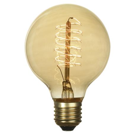 Лампа накаливания Lussole Loft Edisson GF-E-7125 груша E27 60W 220V, диммируемая