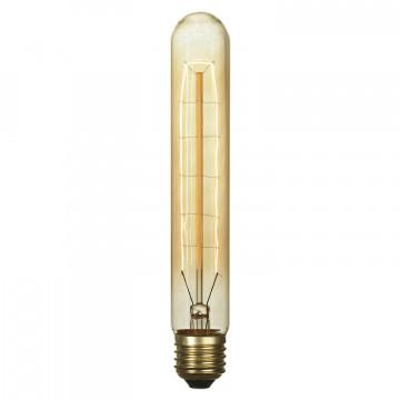 Лампа накаливания Lussole Loft Edisson GF-E-718 цилиндр E27 60W 220V, диммируемая