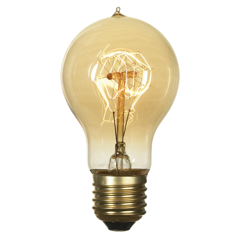 Лампа накаливания Lussole Loft Edisson GF-E-719 груша E27 60W 220V, диммируемая - фото 1