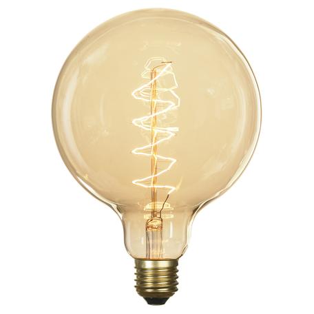 Лампа накаливания Lussole Loft Edisson GF-E-760 шар E27 60W 220V, диммируемая