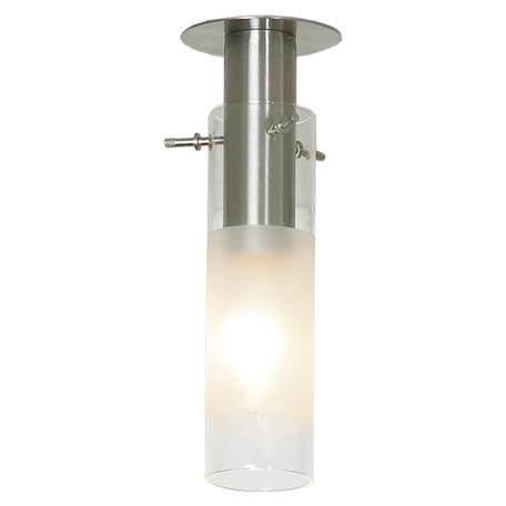 Встраиваемый светильник Lussole LGO Leinell LSA-0200-01, 1xE14x40W, никель, белый, металл, стекло