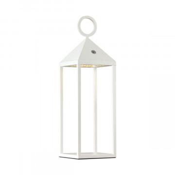 Садовый светодиодный светильник Odeon Light York 4605/2TL, IP54, LED 2W 3000K 187lm, белый, металл