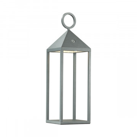 Садовый светодиодный светильник Odeon Light York 4604/2TL, IP54, LED 2W 3000K 187lm, черный, прозрачный, металл